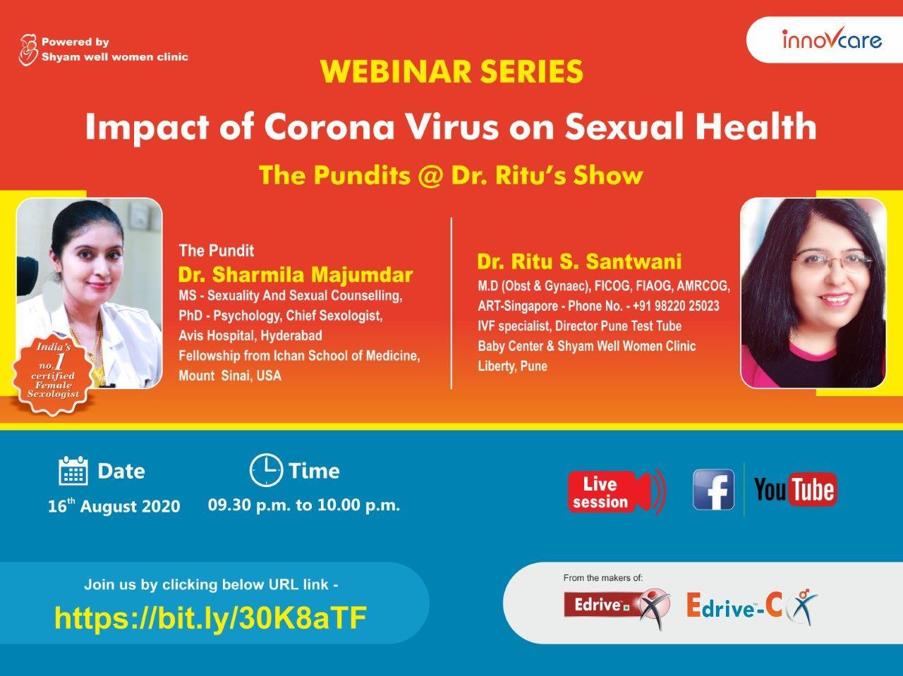 Innovcare Invitation New Female Sexual Dysfunction Dr. Sharmila